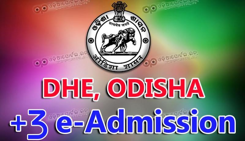 +3 cutoff odisha 2019