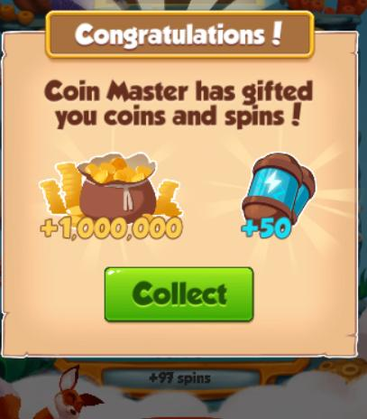Google coin master free spins