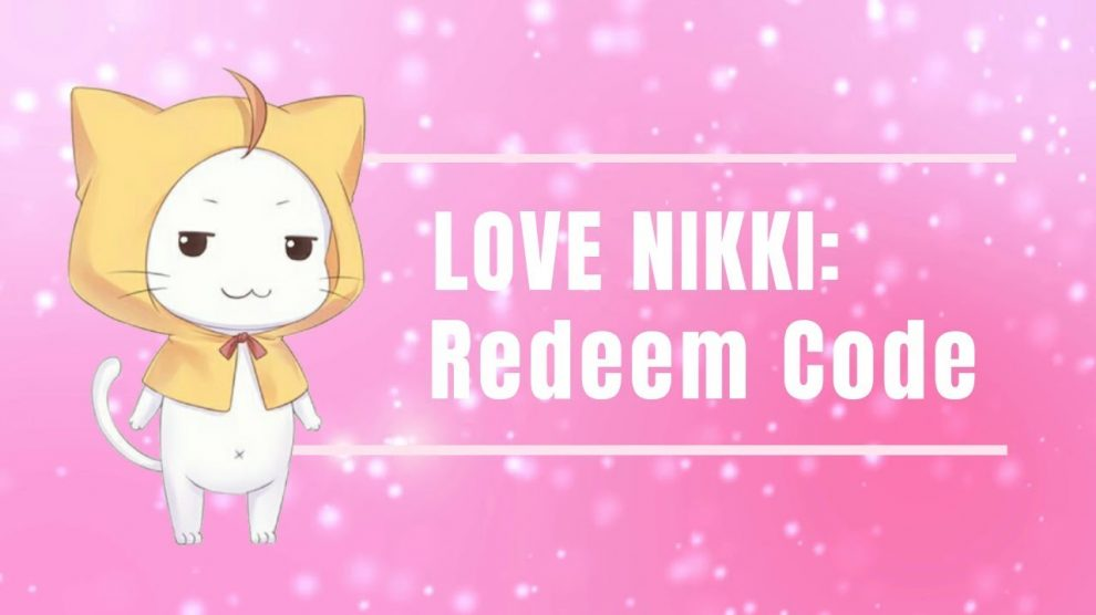 love nikki codes 2019
